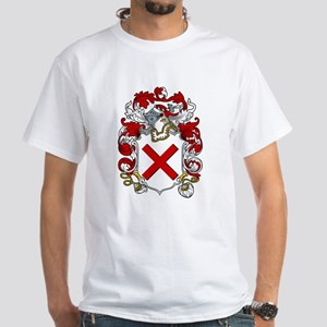 Curry Family Crest White T-Shirt