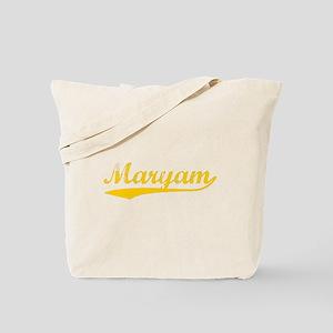 Vintage Maryam (Orange) Tote Bag