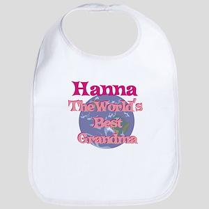 Hanna - Best Grandma in the W Bib