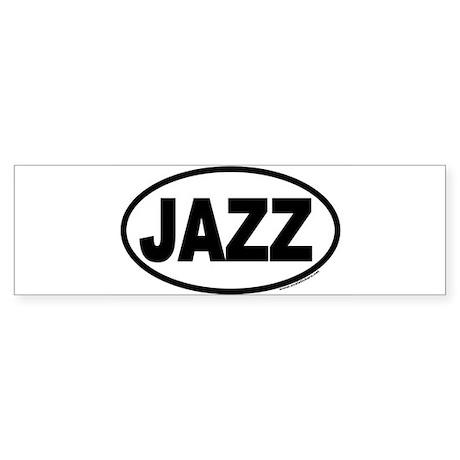 jazz Bumper Sticker