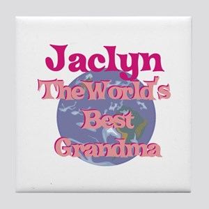 Jaclyn - Best Grandma in the Tile Coaster