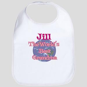 Jill - Best Grandma in the Wo Bib