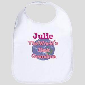 Julie - Best Grandma in the W Bib