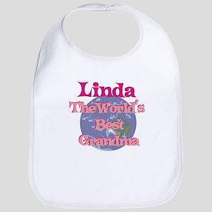 Linda - Best Grandma in the W Bib