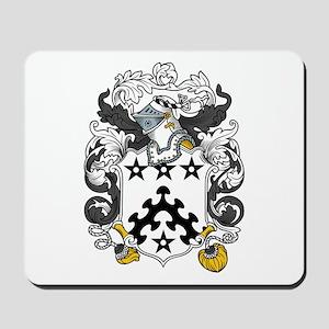 Davis Family Crest Mousepad