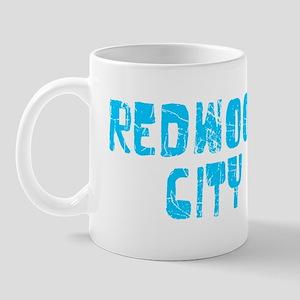 Redwood City Faded (Blue) Mug