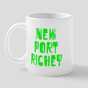 New Port Ric.. Faded (Green) Mug