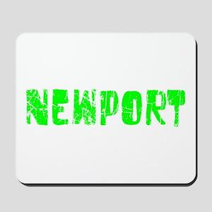 Newport Faded (Green) Mousepad