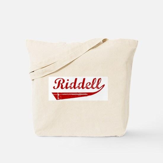 Riddell (red vintage) Tote Bag