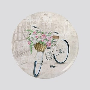Vintage bicycles Button