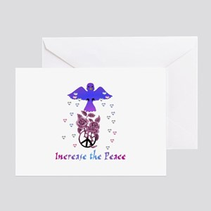 Increase The Peace Greeting Card
