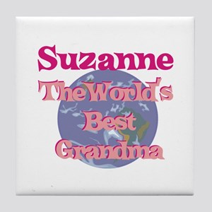 Suzanne - Best Grandma in the Tile Coaster