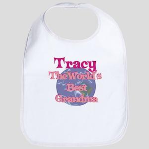 Tracy - Best Grandma in the W Bib
