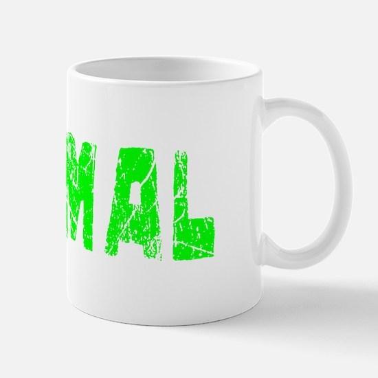 Normal Faded (Green) Mug