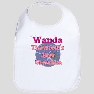 Wanda - Best Grandma in the W Bib