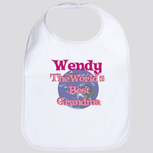 Wendy - Best Grandma in the W Bib