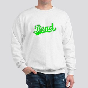 Retro Bend (Green) Sweatshirt