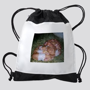 Piglets Drawstring Bag