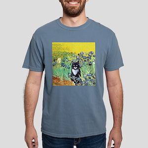Irises & Cat Ash Grey T-Shirt