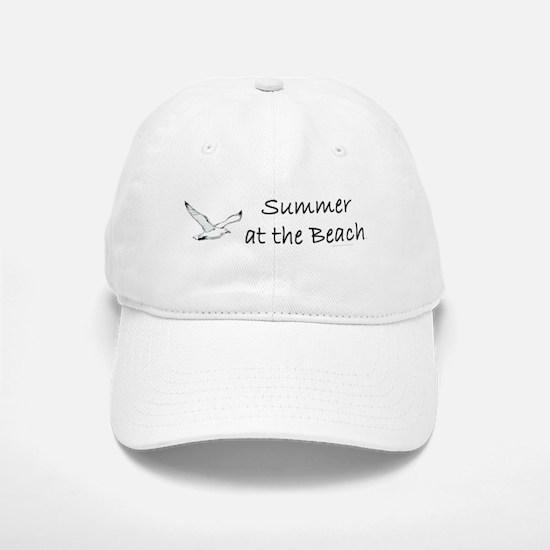 Summer at the Beach Baseball Baseball Cap
