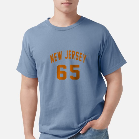 New Jersey 65 Birthday Designs T-Shirt