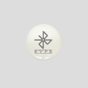 A Safe Joyful Journey Mini Button