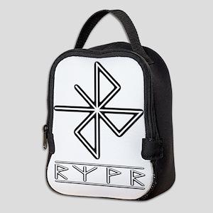 A Safe Joyful Journey Neoprene Lunch Bag