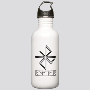 A Safe Joyful Journey Stainless Water Bottle 1.0L
