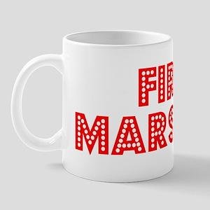 Retro Fire marshal (Red) Mug
