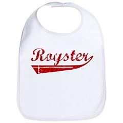 Royster (red vintage) Bib