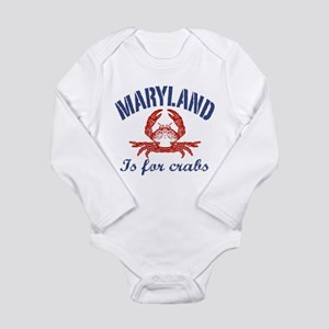 Maryland Crab Baby Clothes Accessories Cafepress