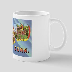 Hartford Connecticut Greetings Mug