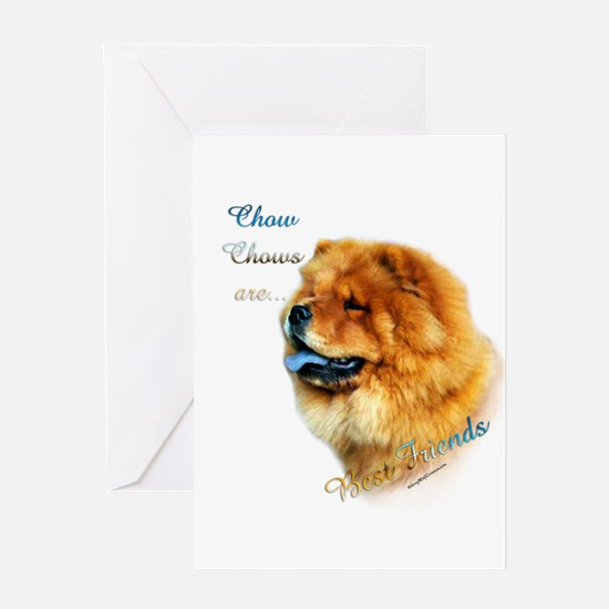 Chow Best Friend 1 Greeting Card