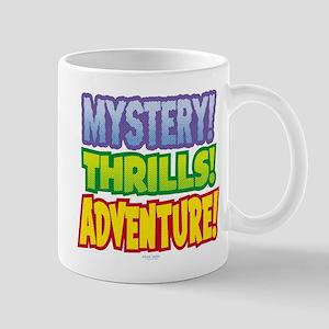 Mystery! Thrills! Adventure! Mug