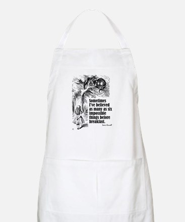 "Carroll ""I've Believed"" BBQ Apron"