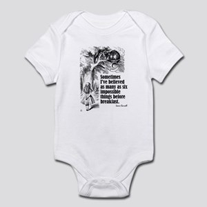 "Carroll ""I've Believed"" Infant Bodysuit"