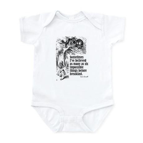 """Carroll """"I've Believed"""" Infant Bodysuit"""