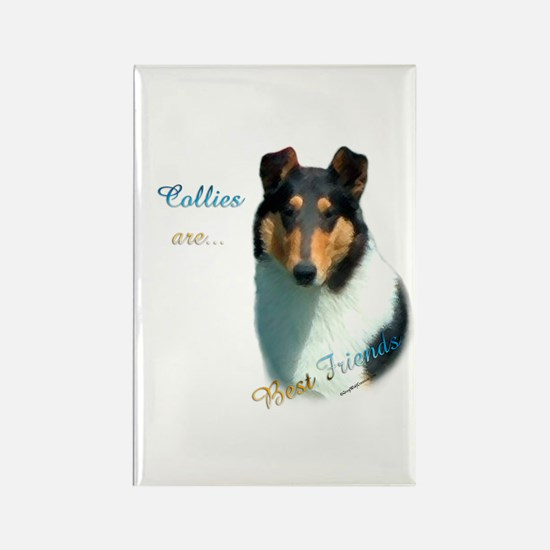 Collie(smooth) Best Friend 1 Rectangle Magnet