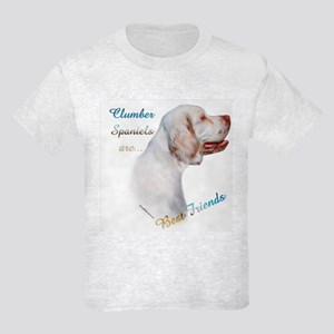 Clumber Best Friend 1 Kids Light T-Shirt