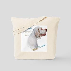 Clumber Best Friend 1 Tote Bag