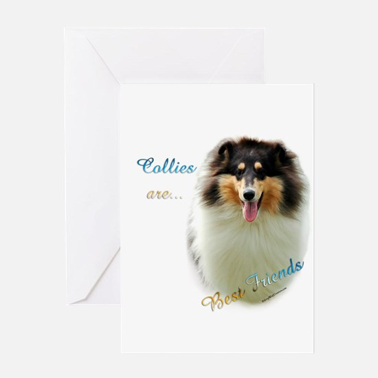 Collie(rough) Best Friend1 Greeting Card