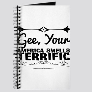 Gee, Your America Smells Terrific. Journal