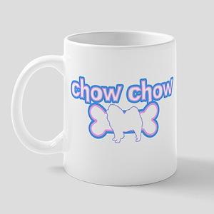 Powderpuff Chow Chow Mug