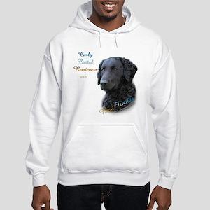 Curly-Coat Best Friend 1 Hooded Sweatshirt