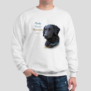 Curly-Coat Best Friend 1 Sweatshirt