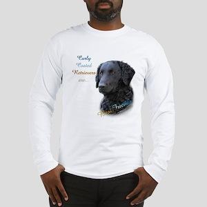Curly-Coat Best Friend 1 Long Sleeve T-Shirt