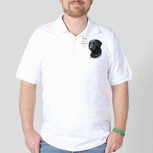Curly-Coat Best Friend 1 Golf Shirt