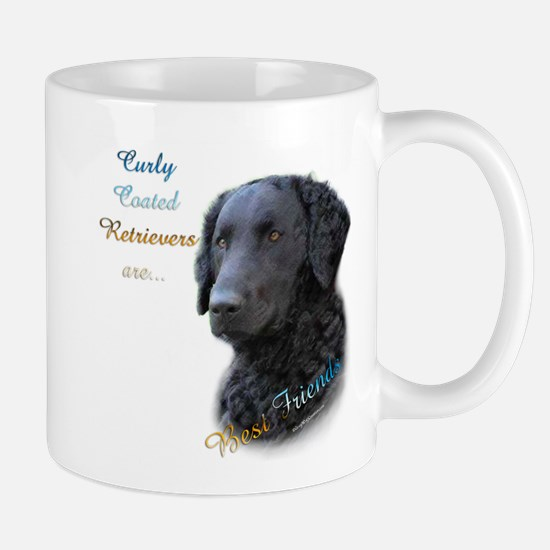 Curly-Coat Best Friend 1 Mug