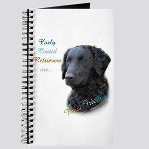 Curly-Coat Best Friend 1 Journal