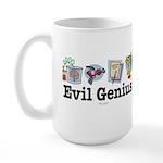 Evil Genius Large Mug